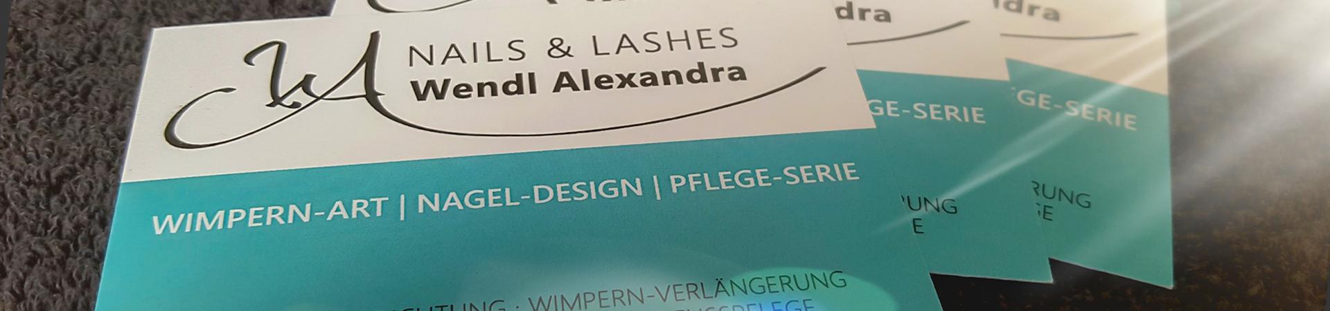 Wimpernverlängerung, Wimperndesign, Nageldesign, Pflegeprodukte